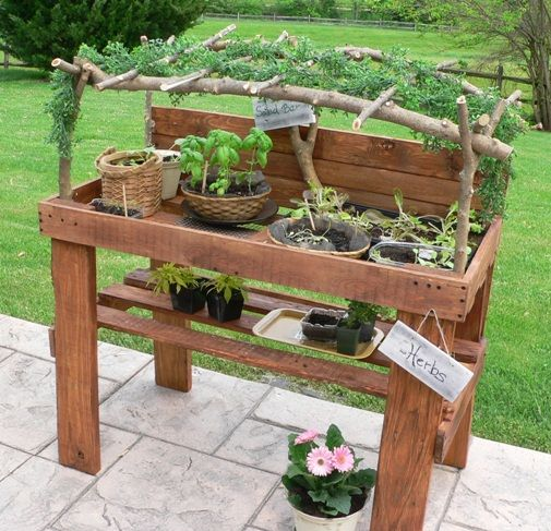 veggie bench