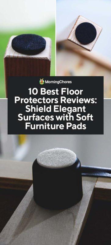 10 Best Floor Protectors Reviews, Best Dining Room Chair Leg Pads