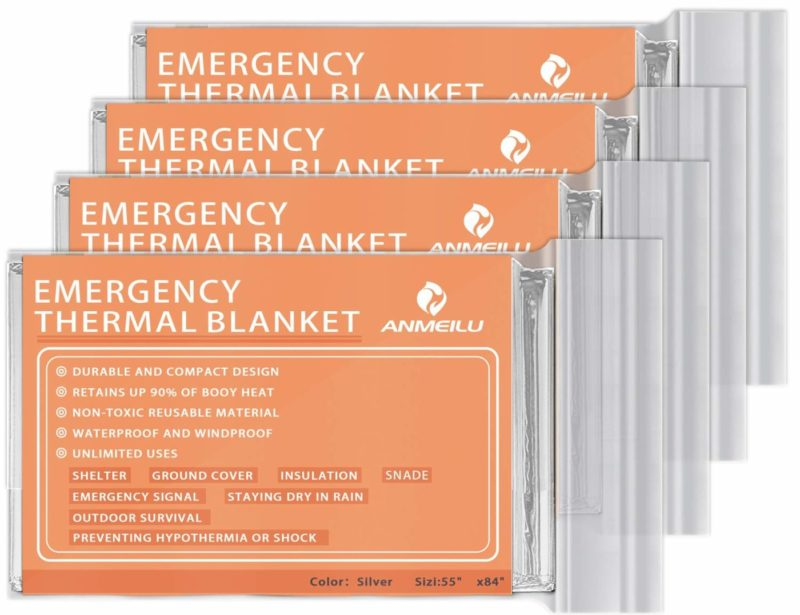 ANMEILU Emergency Survival Blanket