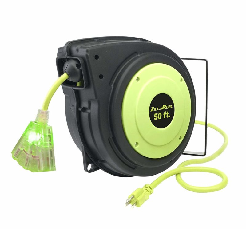 Flexzilla ZillaReel E8140503 50-foot Extension Cord Reel