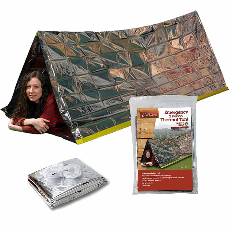 Grizzly Gear Emergency Thermal Tent