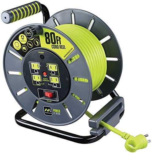 Masterplug 80-foot Extension Cord Reel