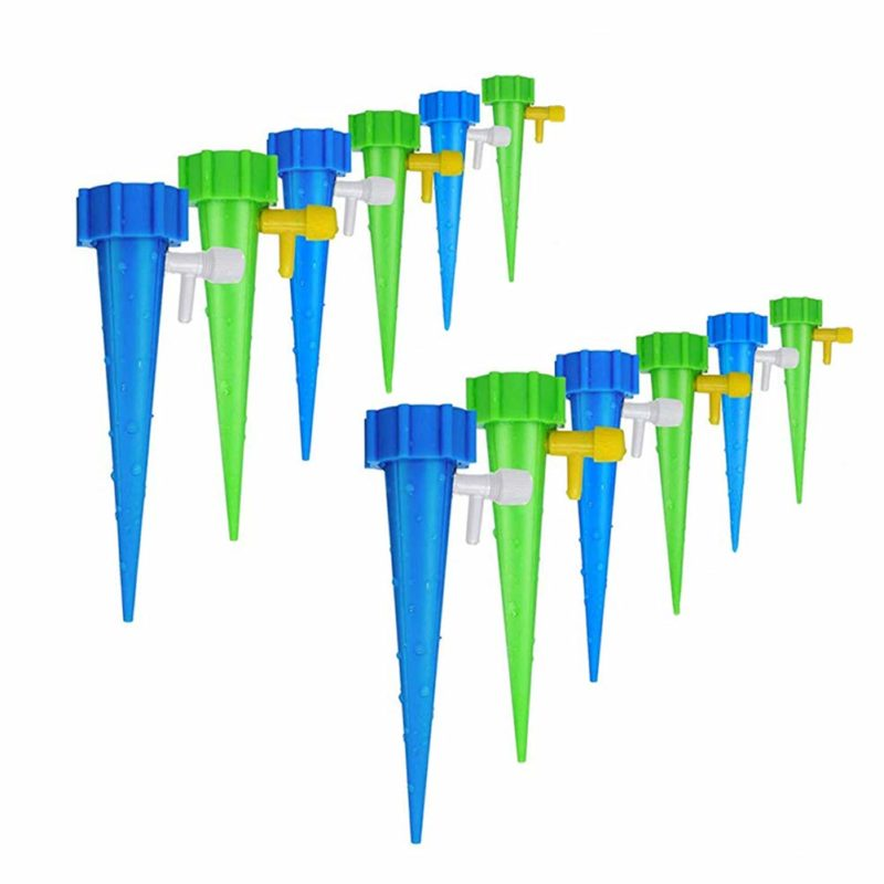 plastic spikes made for automatic watering systems