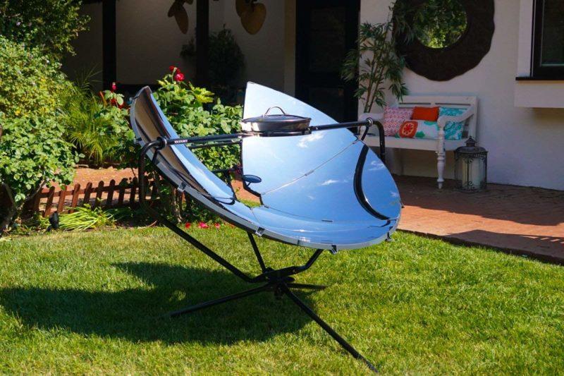 solar cooker dish