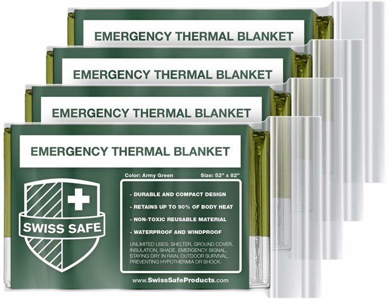 Swiss Safe Emergency Survival Blankets