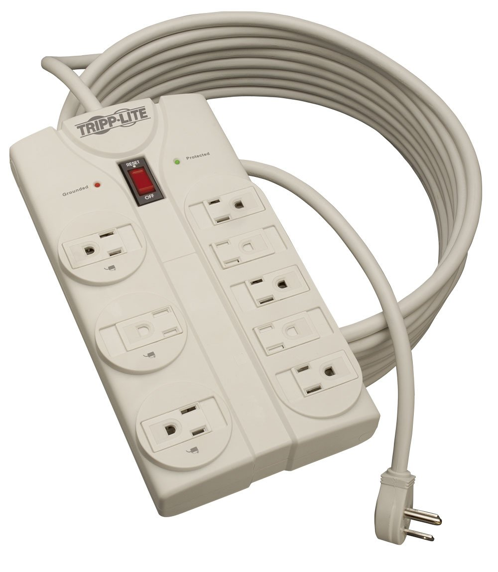 Tripp Lite TLP825 25 foot Extension Cord Power Strip