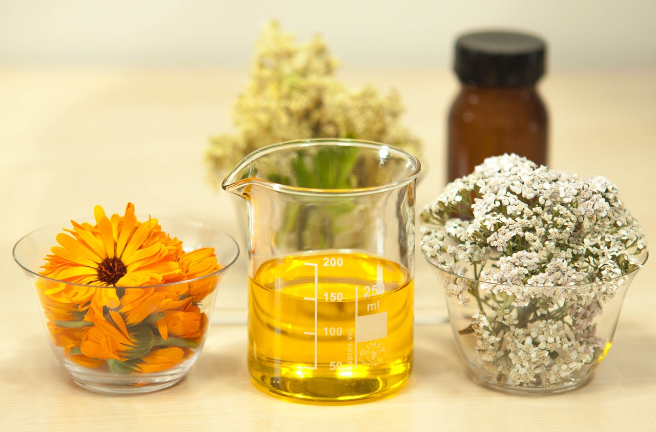 using herbs for infused oils