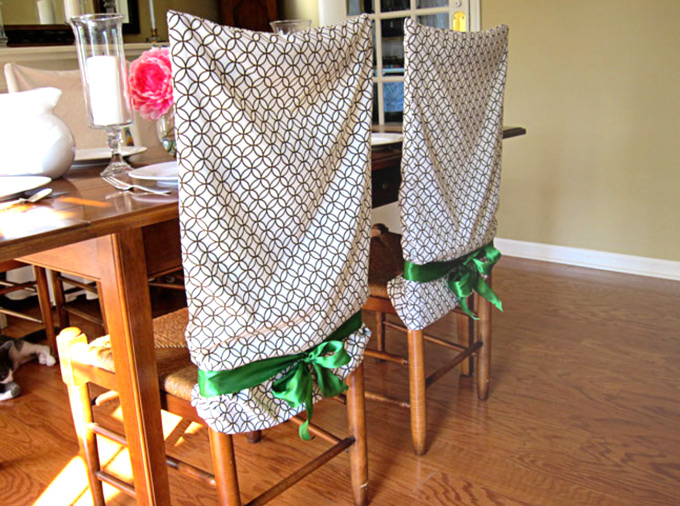 Pillowcase ideas can include these chair covers