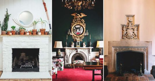 14 Gorgeous DIY Faux Fireplaces for Any Budget