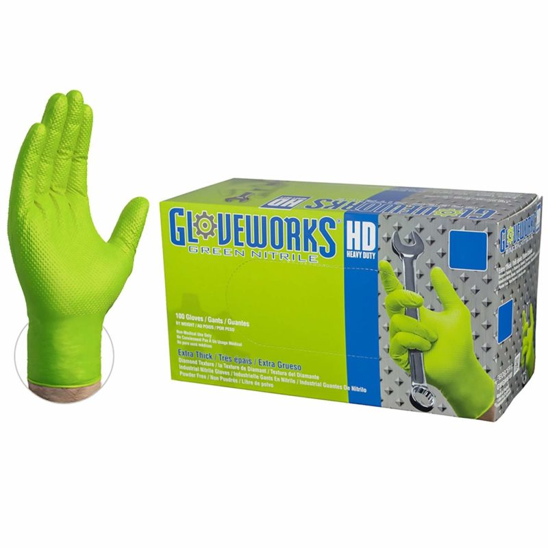 AMMEX GWGN44100-BX Nitrile Gloves