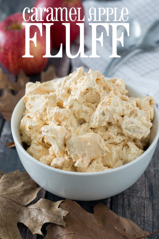 caramel apple fluff recipes