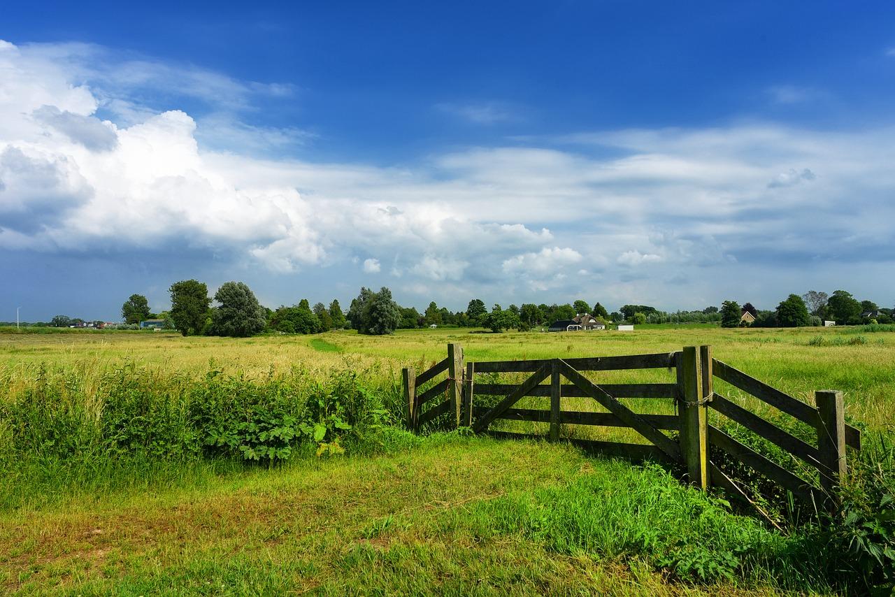 Farm gate as safety measures