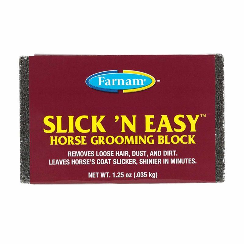 Farnam Slick 'N Easy Horse Grooming Block