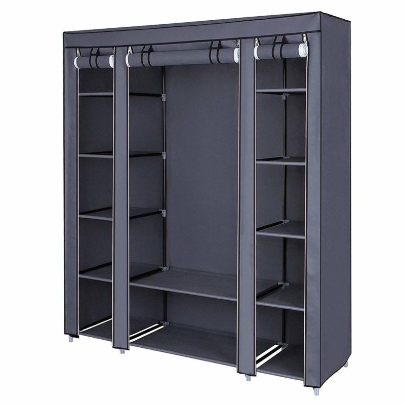 SONGMICS ULSF03G Portable Closet Organizer Cabinet