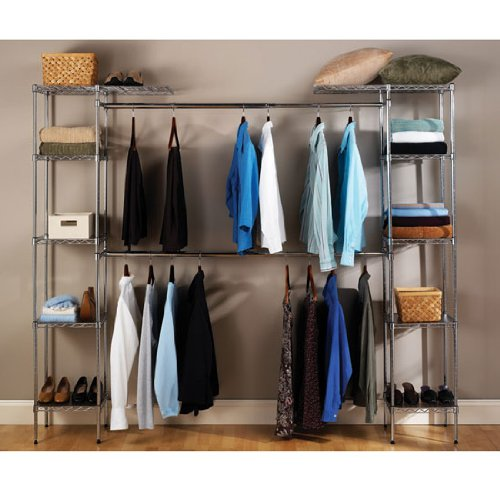 Seville Classics Clothes Rack Portable Closet Organizer