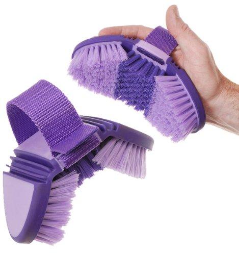 Tough 1 Great Grips Flex Finishing Grooming Brush