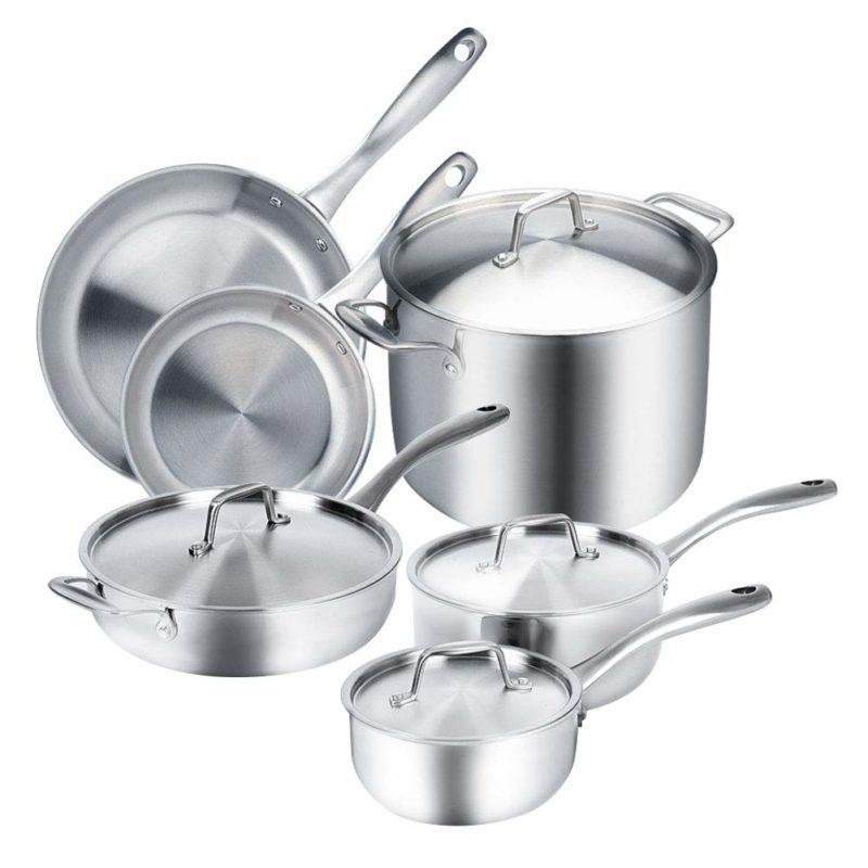 Duxtop Cookware 10-piece Set