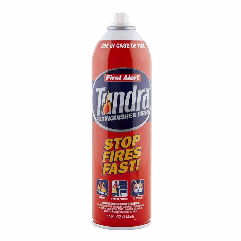 First Alert AF400 Tundra Aerosol Spray Fire Extinguisher