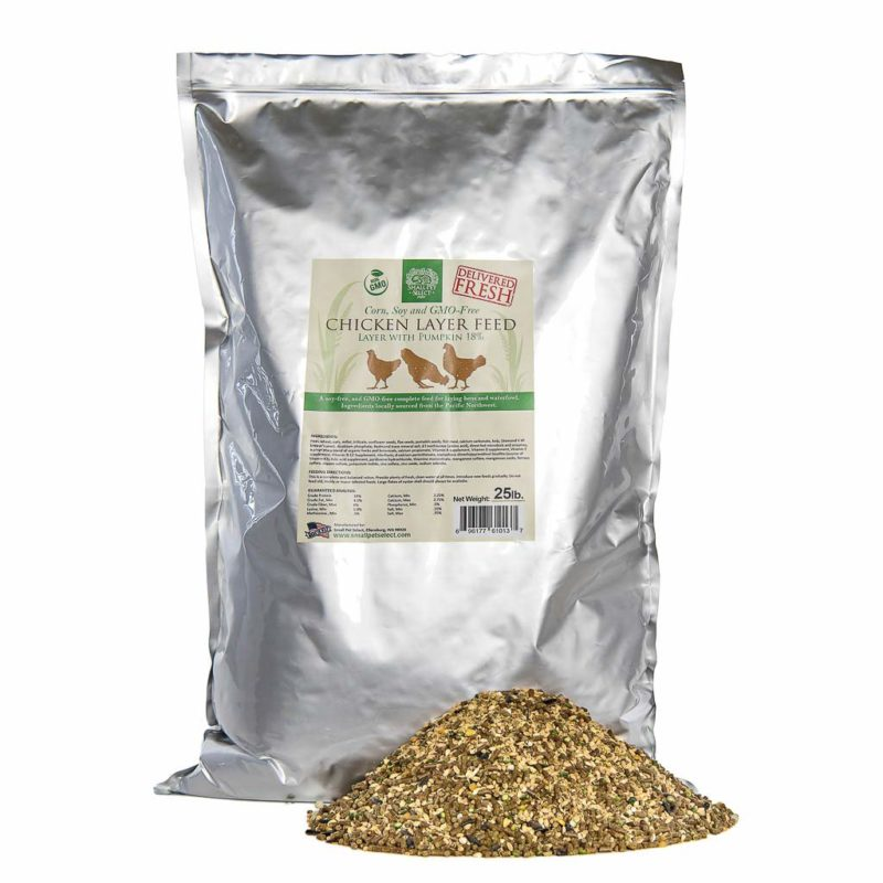 Small Pet Select Chicken Layer Feed