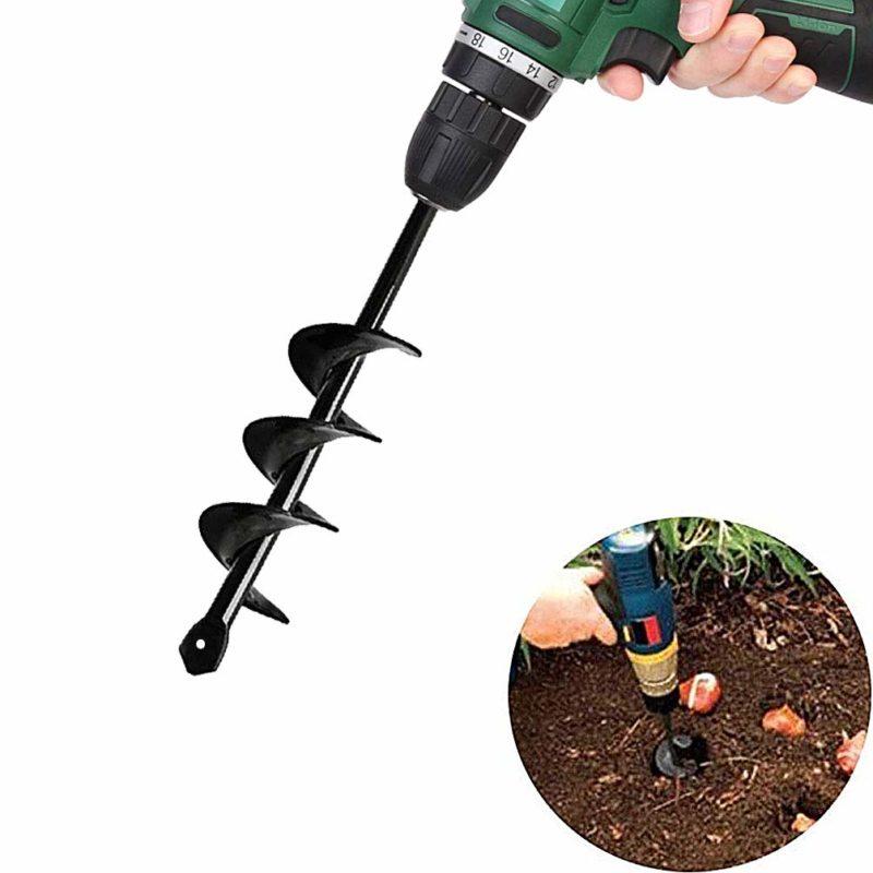 SuperThinker Auger Drill Bulb Planter