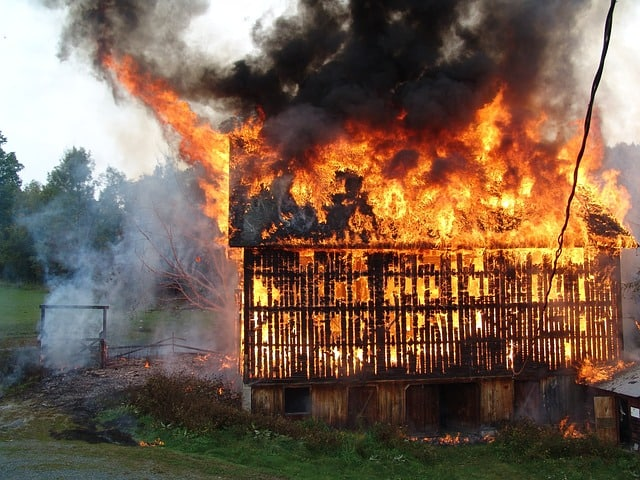 barn fire prevention could save you many a tear