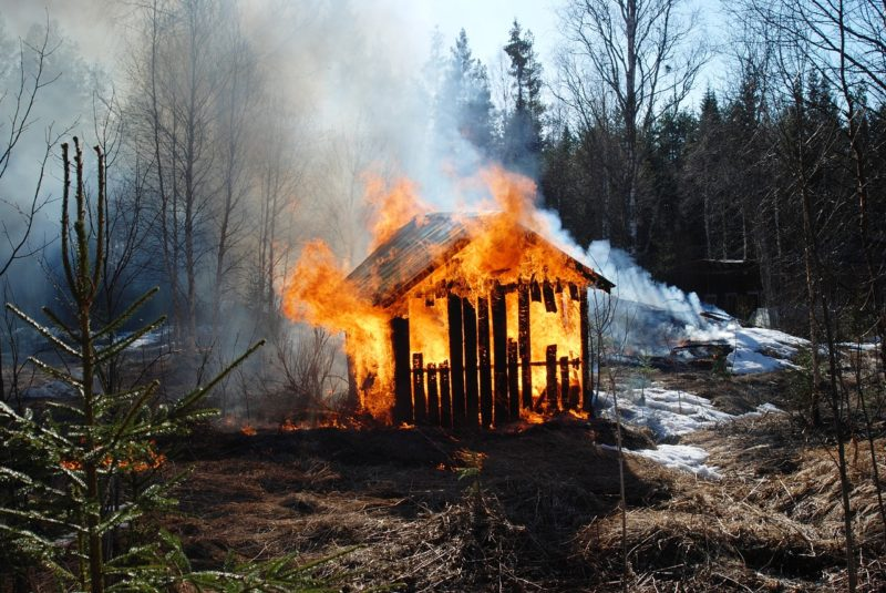 fire risk assessment - sheds are more susceptible to fire