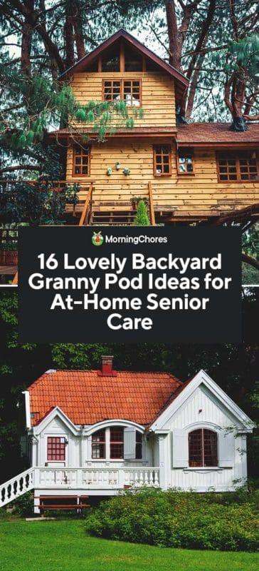 16 Lovely Backyard Granny Pod Ideas for At-Home Senior Care