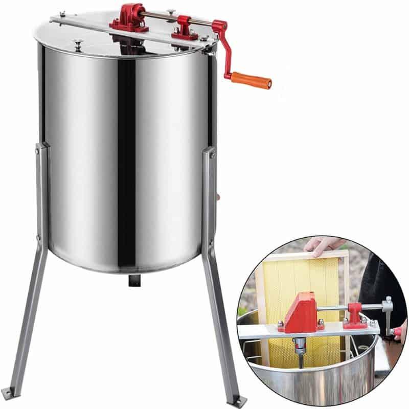 BestEquip Manual 4-frame Honey Extractor