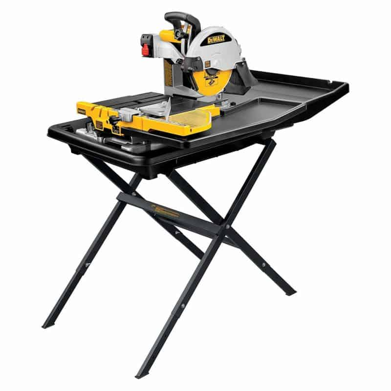 DEWALT D24000S Wet Tile Saw with Stand