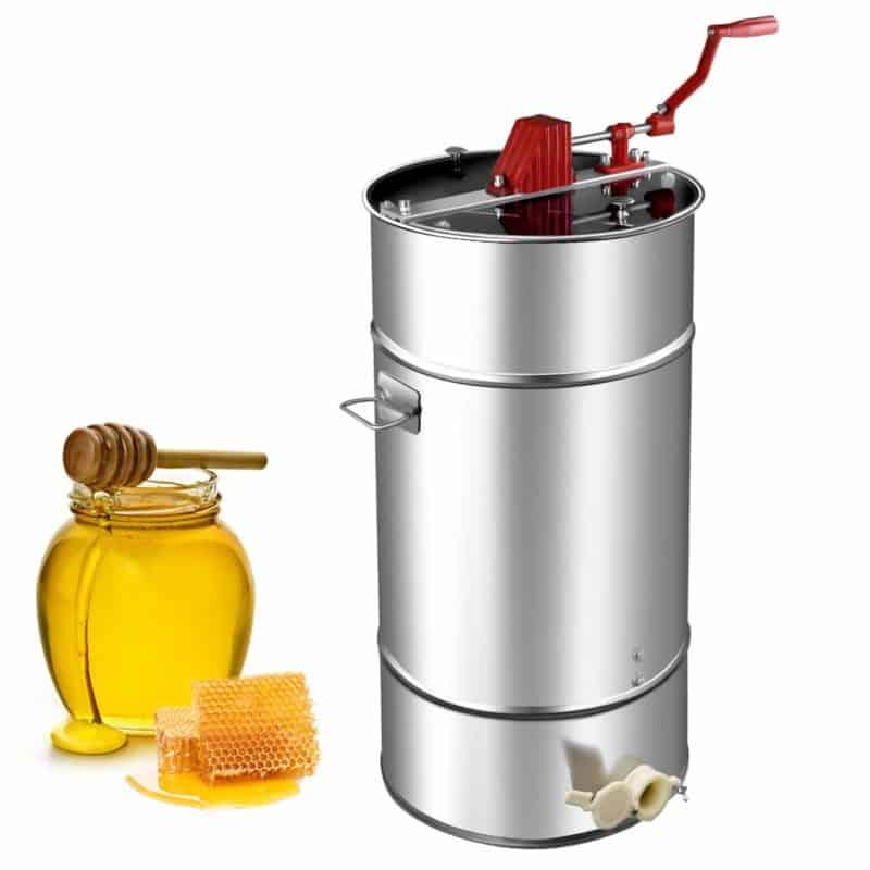 Goplus Manual 2 Frame Honey Extractor
