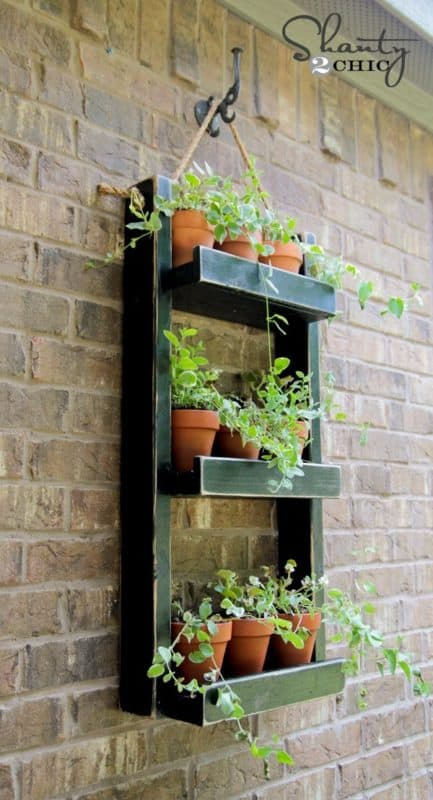 planter shelf indoor vertical garden