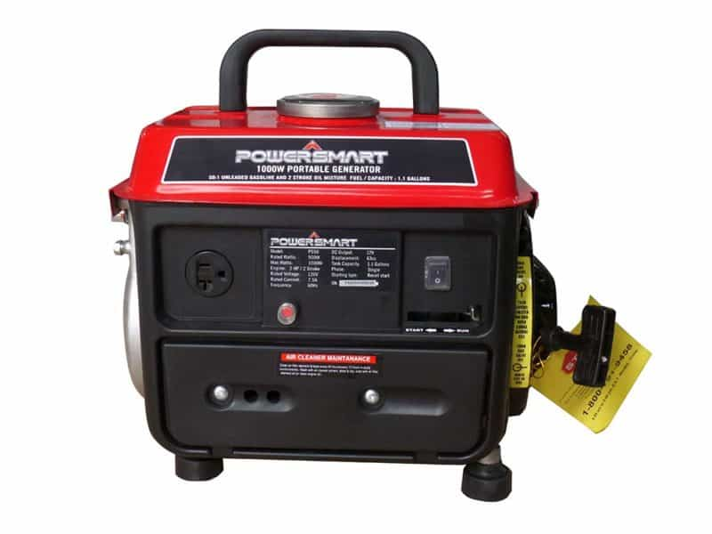 PowerSmart PS50A 1000/900 Watts Gas Powered Portable Generator
