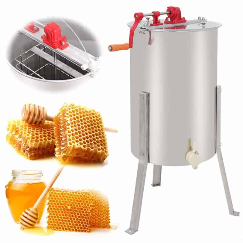 SUPER DEAL Pro 2 Frame Honey Extractor