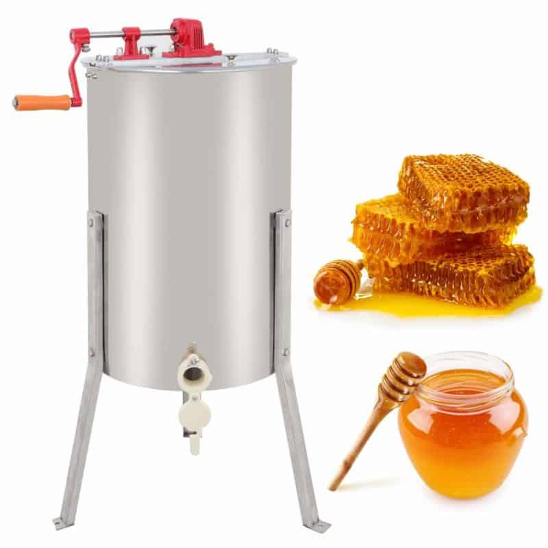 ZENY Pro Manual Crank Bee Honey Extractor