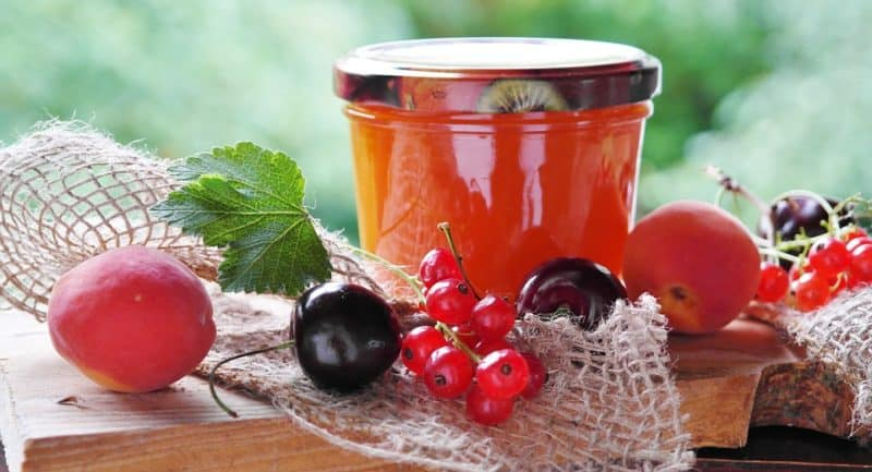pectin is used to make jellies and jam