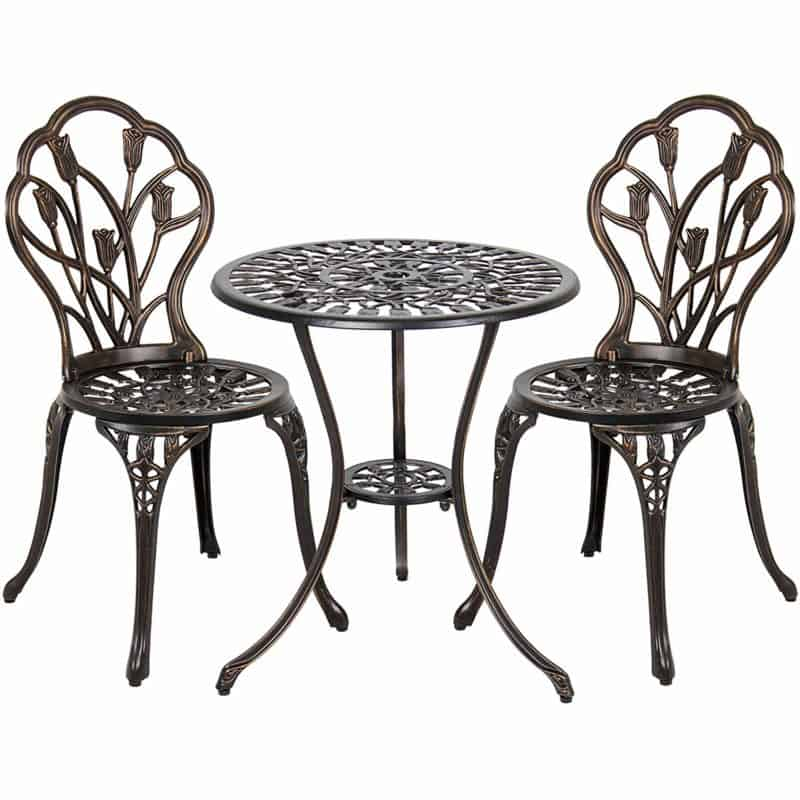 Best Choice Products 3-Piece Patio Set