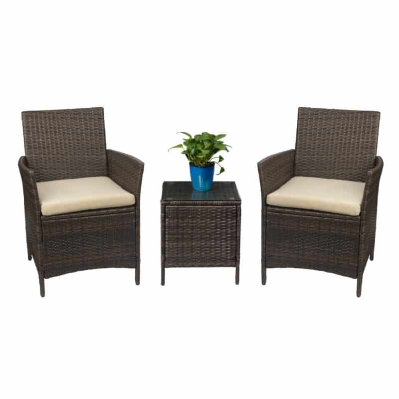 Devoko 3-piece Furniture Patio Set