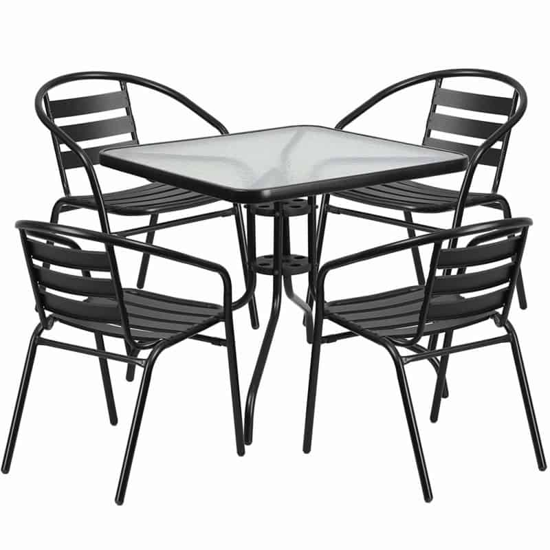 Flash Furniture 5-piece Patio Set