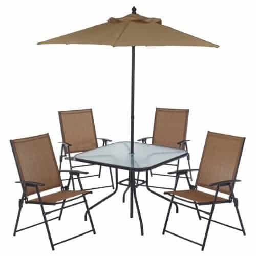 Mosaic 6 Piece Patio Set