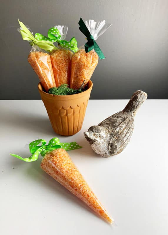 Easter Carrots from Epsom Salts