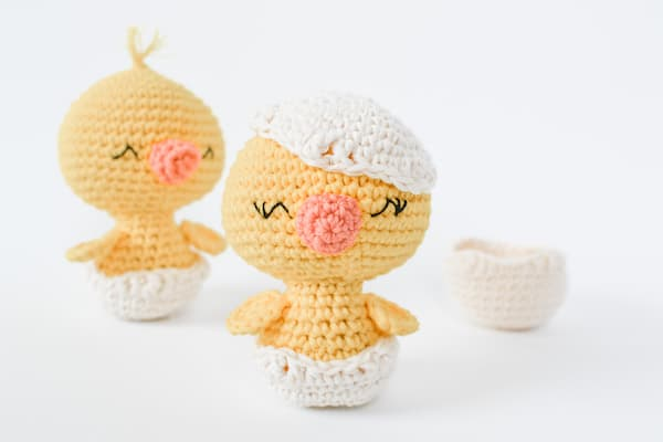 Crochet Chick easter crafts
