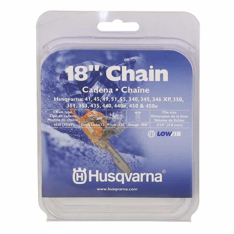 Husqvarna 18-inch Cadena Chainsaw Chain