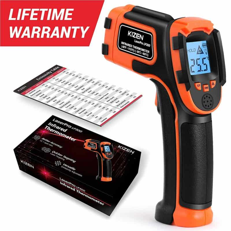 Kizen LaserPro LP300 Infrared Thermometer