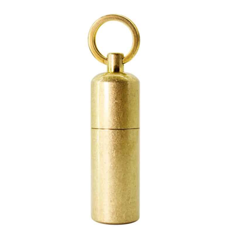 PPFISH EDC Mini Brass Survival Lighter