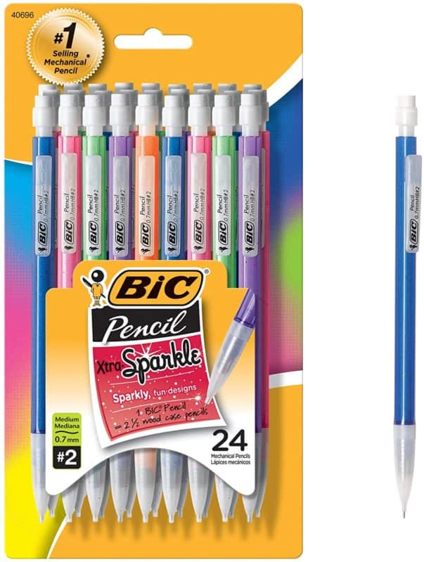 BIC Xtra-Sparkle Mechanical Pencil 24-pack