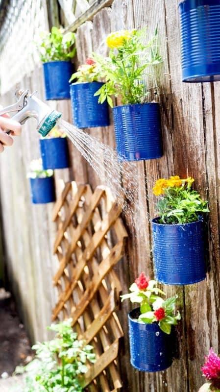 creative gardening is a fun backyard activity