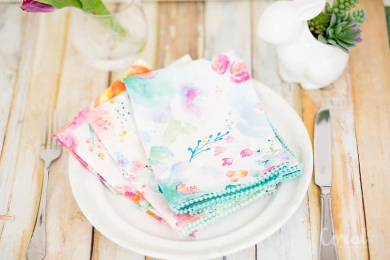easter crafts napkins