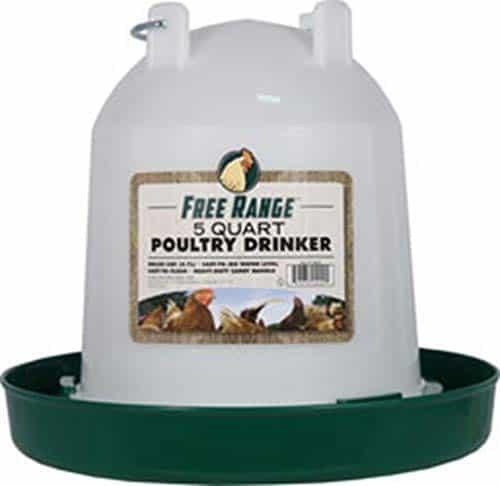 Harris Farms 5-quart Plastic Poultry Drinker