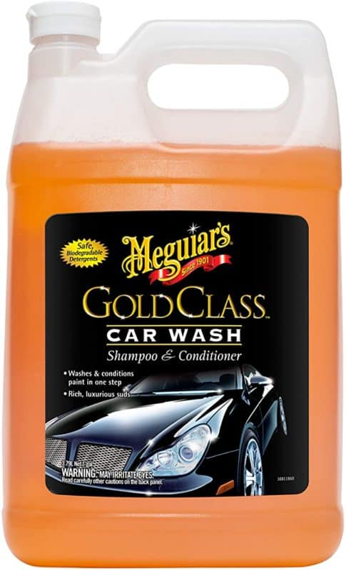 Meguiar's G7101FFP 1-gallon Gold Class Car Wash Shampoo and Conditioner