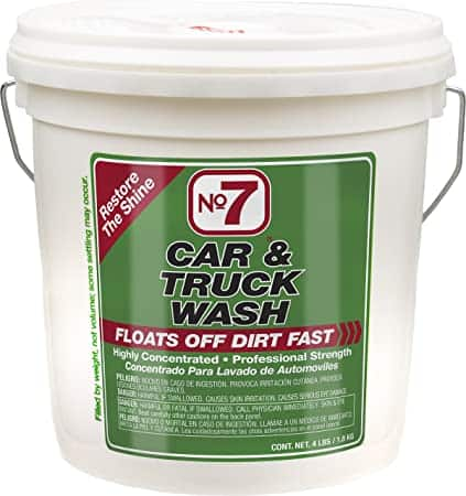 Niteo Products No. 7 Car & Truck Wash Powder